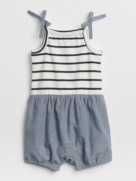 Stripe Chambray One Piece by Gap