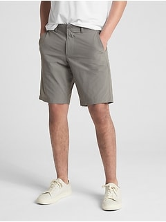 "10"" Hybrid Khaki Shorts with GapFlex"