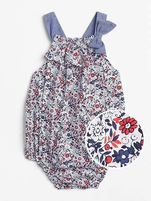 Floral Bubble One Piece by Gap