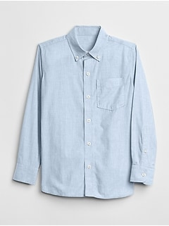 Uniform Poplin Long Sleeve Shirt