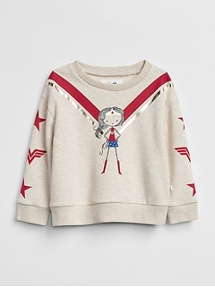 babyGap &#124 DC&#153 Wonder Woman Sweatshirt