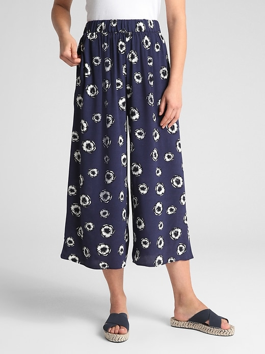 Crop Wide Leg Pants by Gap