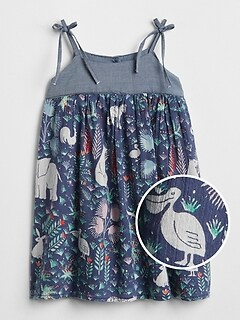Jungle Print Tank Dress