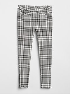 Plaid Ponte Pants