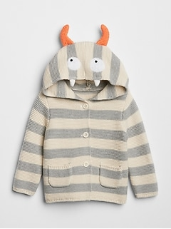 Monster Garter Hoodie Sweater