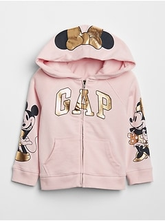 babyGap &#124 Disney Minnie Mouse Hoodie Sweatshirt