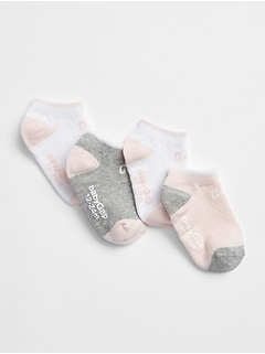 Logo No-Show Socks (4-Pack)
