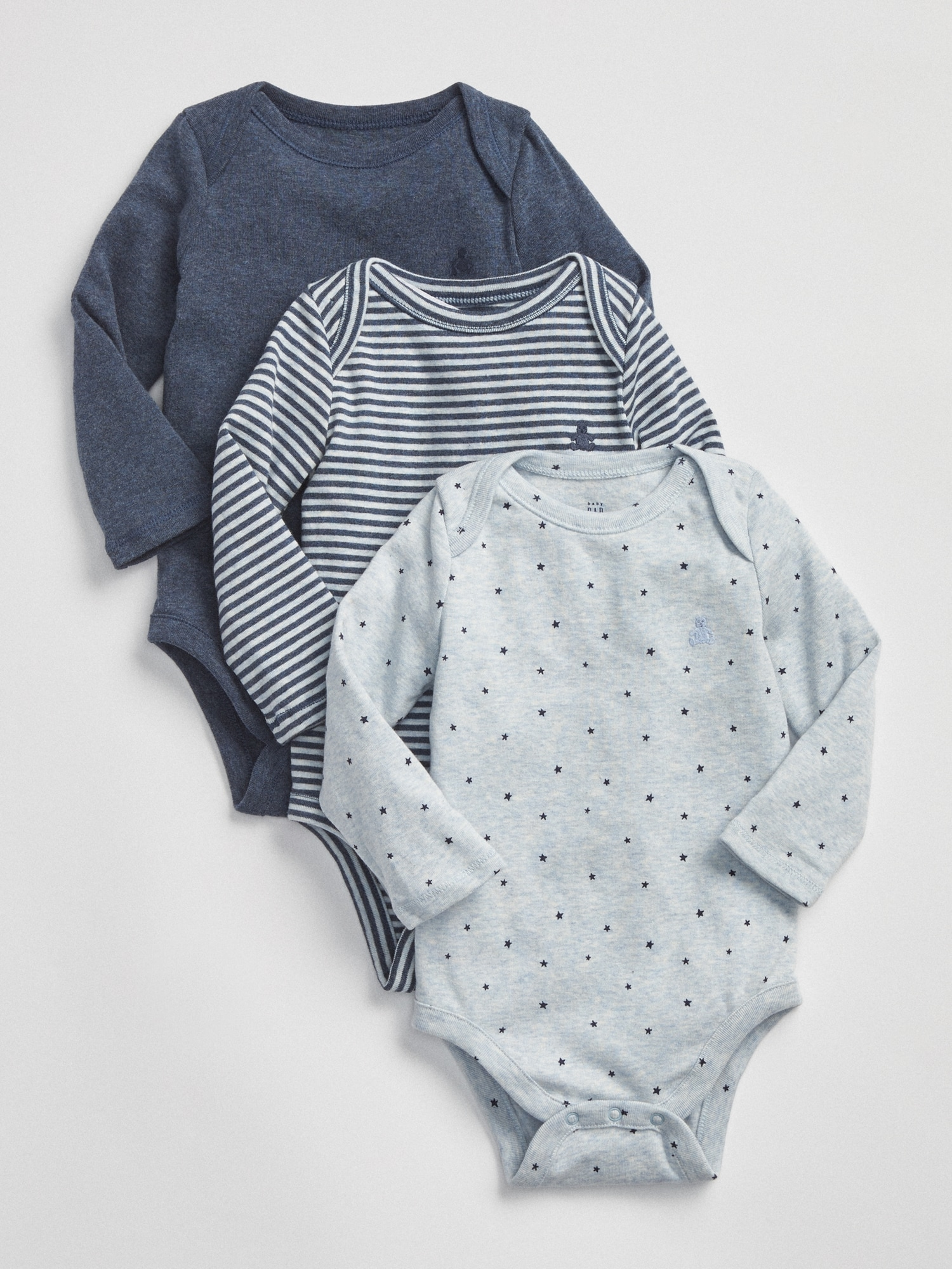 9e45cc94c First Favorite Long Sleeve Bodysuit (3-Pack)
