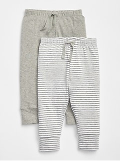 First Favorite Stripe Knit Pants (2-Pack)