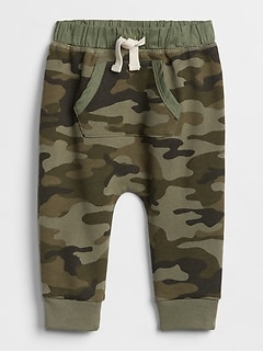 Baby Camo Pull-On Joggers