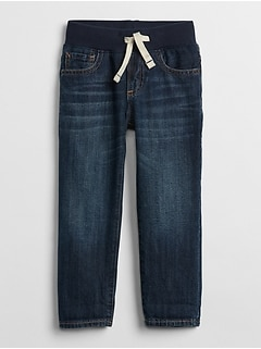 Pull-On Slim Fit Jeans