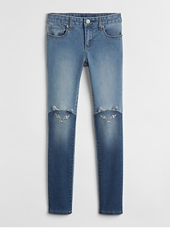 Superdenim Cat Super Skinny Jeans with Fantastiflex