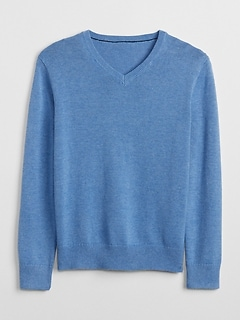 Uniform V-Neck Sweater