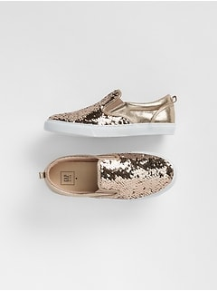 Flippy Sequin Slip-On Sneakers