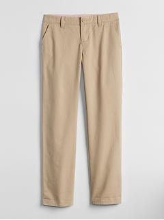 Uniform Stain-Resistant Chinos in Stretch