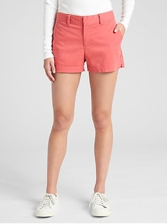 "Mid Rise 3"" City Shorts"