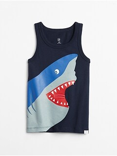 3D Graphic Tank Top