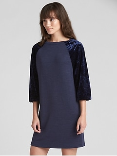 Softspun Velvet Raglan T-Shirt Dress
