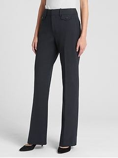 High Rise Curvy Baby Boot Pants