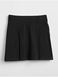 Uniform Essential Skort in Stretch Twill