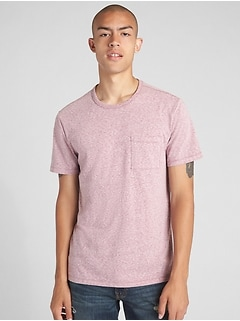 Marled Pocket T-Shirt