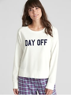 Graphic Pullover Sweatshirt