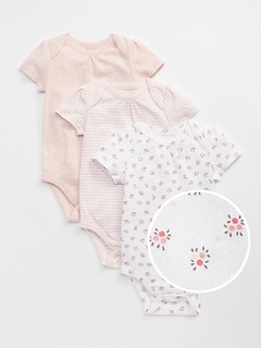 Baby First Favorite Floral Short Sleeve Bodysuit