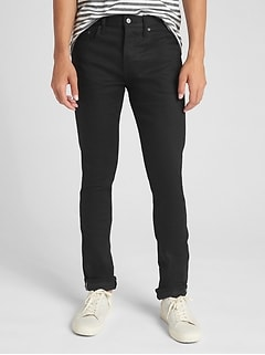 Selvedge Jeans in Skinny Fit with GapFlex