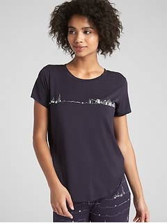 Graphic T-Shirt in Modal