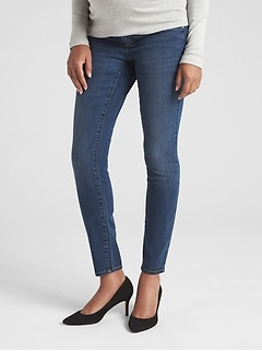 Maternity Soft Wear Inset Panel True Skinny Jeans