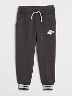 Logo Joggers in Fleece