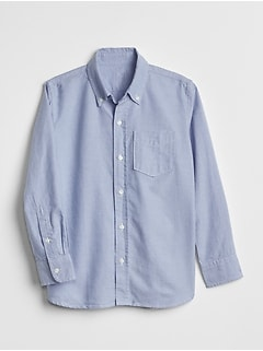 Uniform Oxford Long Sleeve Shirt