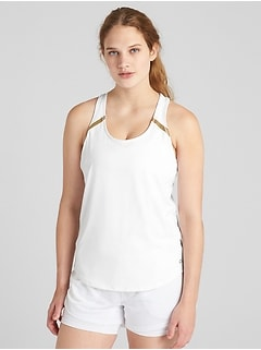GapFit Reflective Detail Tank Top