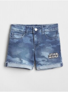 GapKids &#124 Star Wars&#153 Camo Midi Shorts