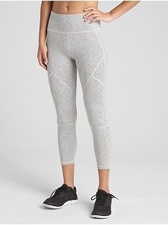 GapFit High Rise Blackout 7/8 Spacedye Leggings