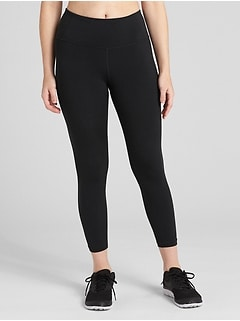 GapFit High Rise 7/8 Leggings in Eclipse