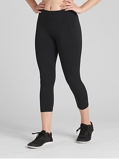 GFast High Rise Capris in Eclipse