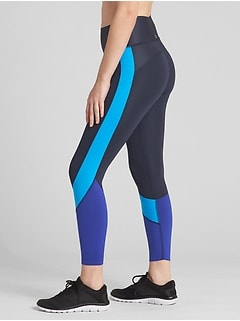 GFast High Rise Colorblock 7/8 Zone Leggings