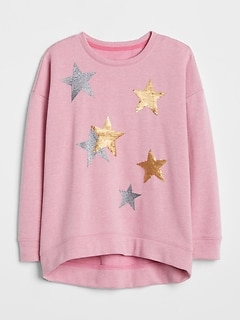 Flippy Sequin Pullover Sweater