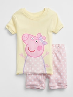 Pig Short PJ Set