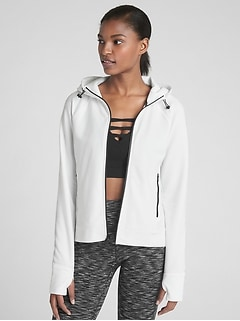 GapFit All-Elements Full-Zip Hoodie