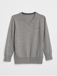 Brannan Bear V-Neck Sweater