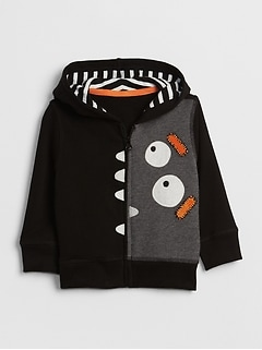 Monster Graphic Hoodie Sweatshirt