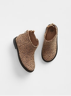Cheetah Print Booties