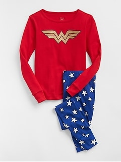 GapKids &#124 DC&#153 Wonder Woman PJ Set
