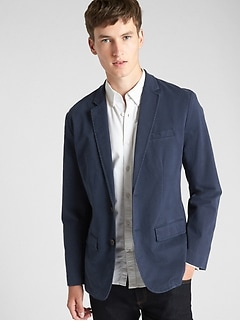 Casual Classic Blazer in Stretch