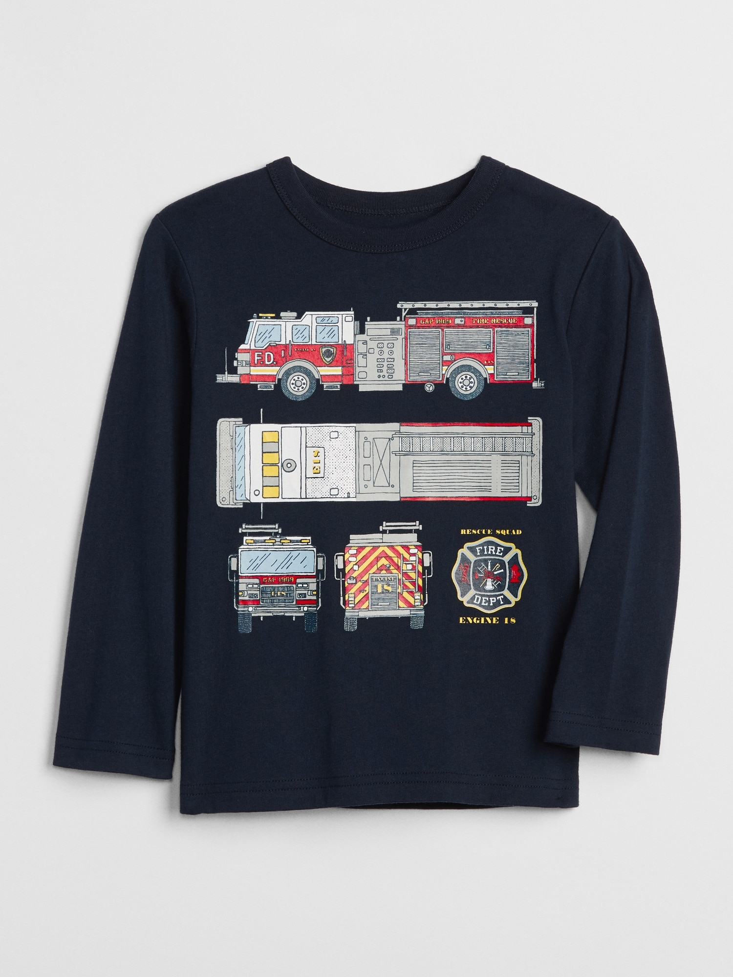 3dd85857c8e8 Graphic Long Sleeve T-Shirt | Gap