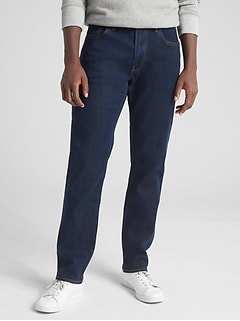 Soft Wear Jeans in Straight Fit with GapFlex