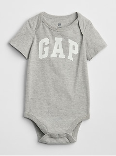 Logo Short Sleeve Bodysuit