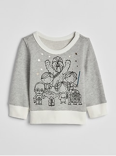 babyGap &#124 Star Wars&#153 Crewneck Sweater